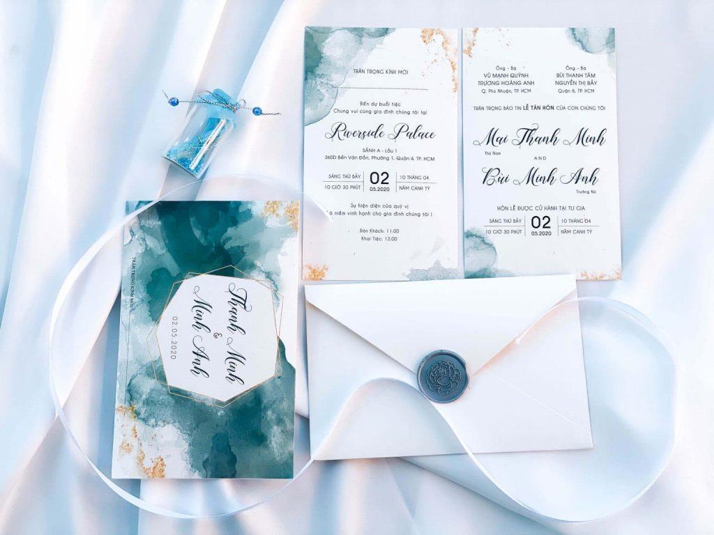 Cách ghi thiệp cưới đơn giản – ý nghĩa đúng cách cho ngày trọng đại