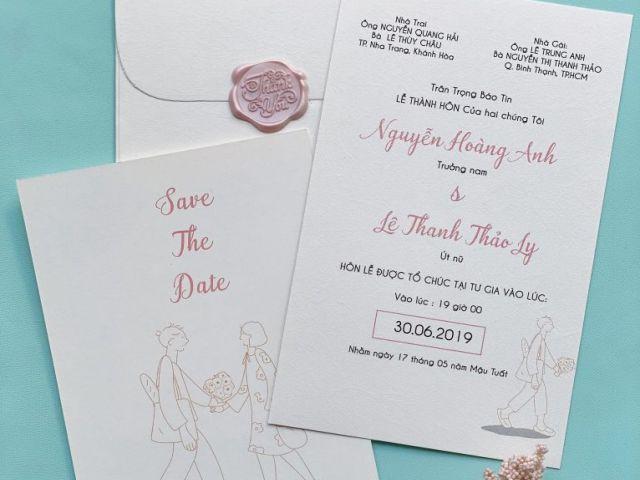 In thiệp cưới giá rẻ tại Quận Tân Bình với chất liệu cao cấp