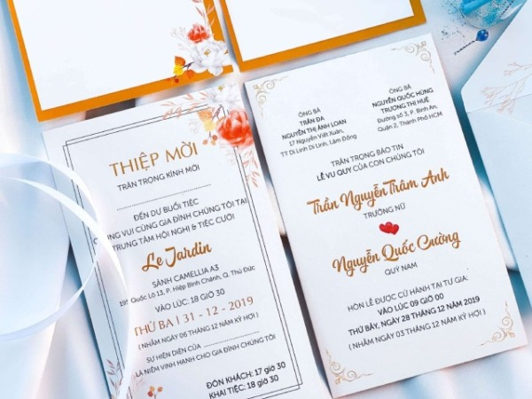 Nhà Mèo - Địa chỉ uy tín nhất in thiệp cưới giá rẻ tại Đà Lạt Lâm Đồng