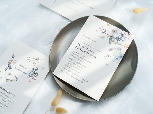 Dịch vụ in thiệp cưới giá rẻ tại Quận Bình Chánh đảm bảo uy tín cho khách hàng