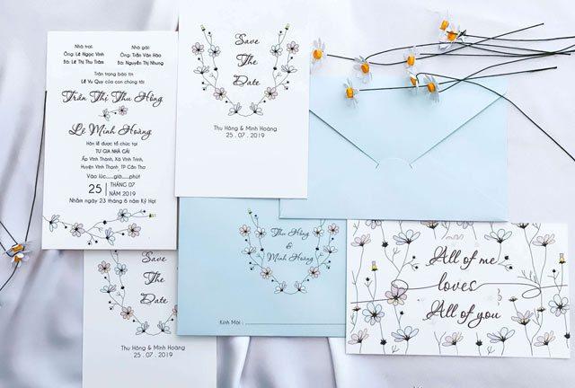Hướng dẫn cách viết nội dung thiệp mời cưới chi tiết và chính xác