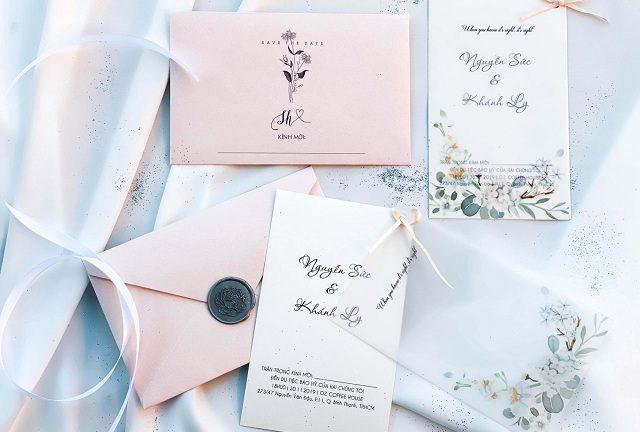 Tìm hiểu quy trình in thiệp cưới nhanh nhất tại Thiệp cưới Nhà Mèo