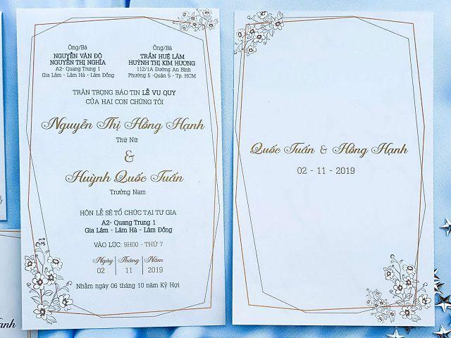 Hướng dẫn cách ghi thiệp cưới mời sếp cực chuẩn