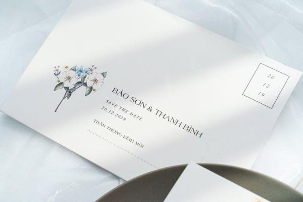 Mẫu thiệp cưới đẹp giá rẻ in sẵn với sức hút lớn