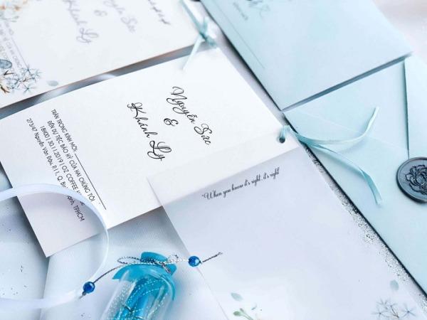 Chọn màu sắc phù hợp và tìm địa chỉ in thiệp cưới tự thiết kế uy tín