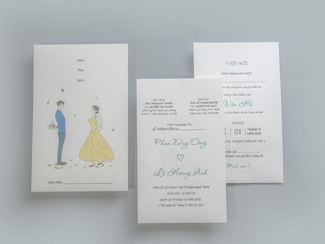 Địa chỉ in thiệp cưới giá sỉ số lượng lớn phôi thiệp uy tín