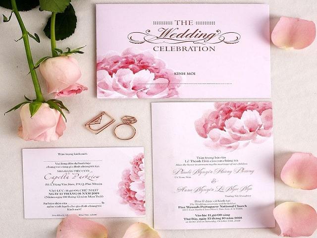 Top 50+ mẫu thiệp cưới handmade đẹp nhất hiện nay