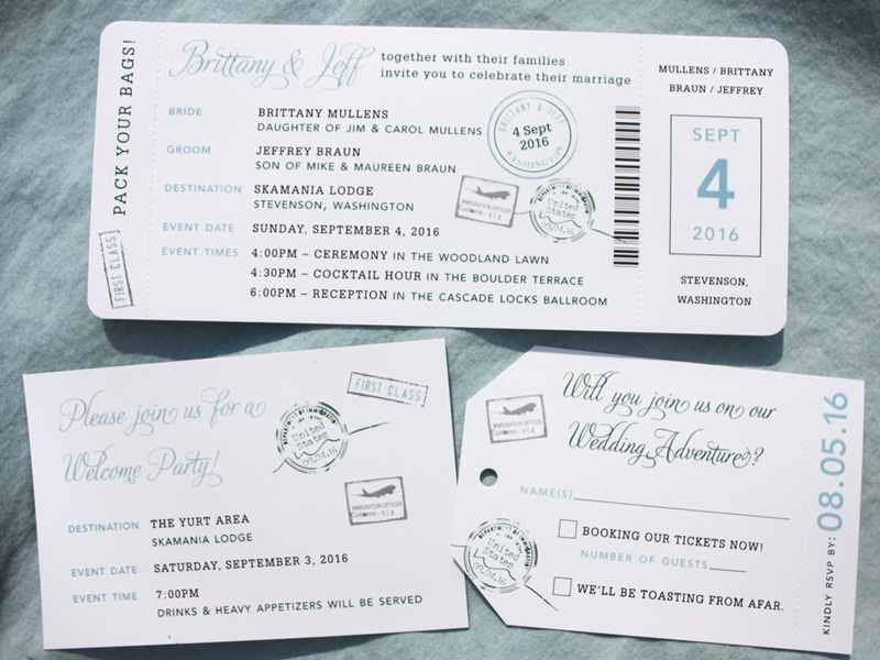 Top 20+ mẫu thiệp cưới vé máy bay HOT nhất năm