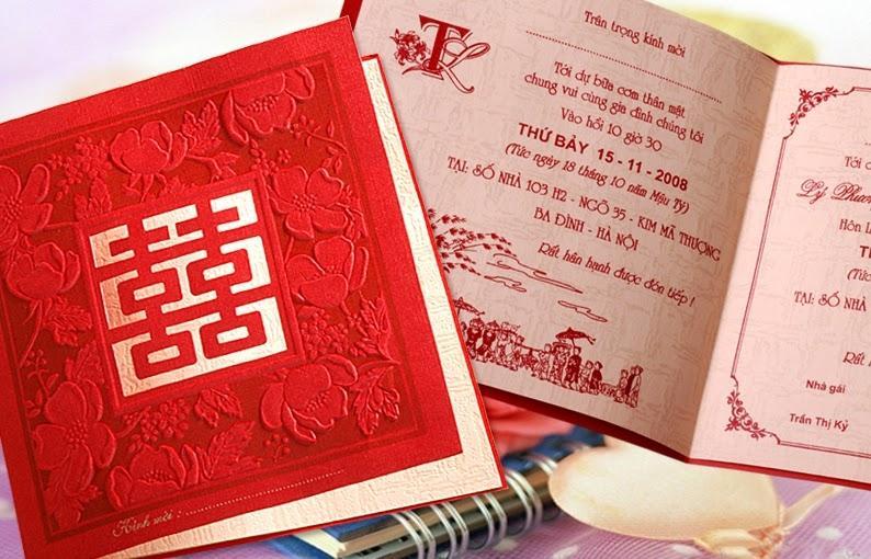 Thiệp đỏ truyền thống được ưa chuộng